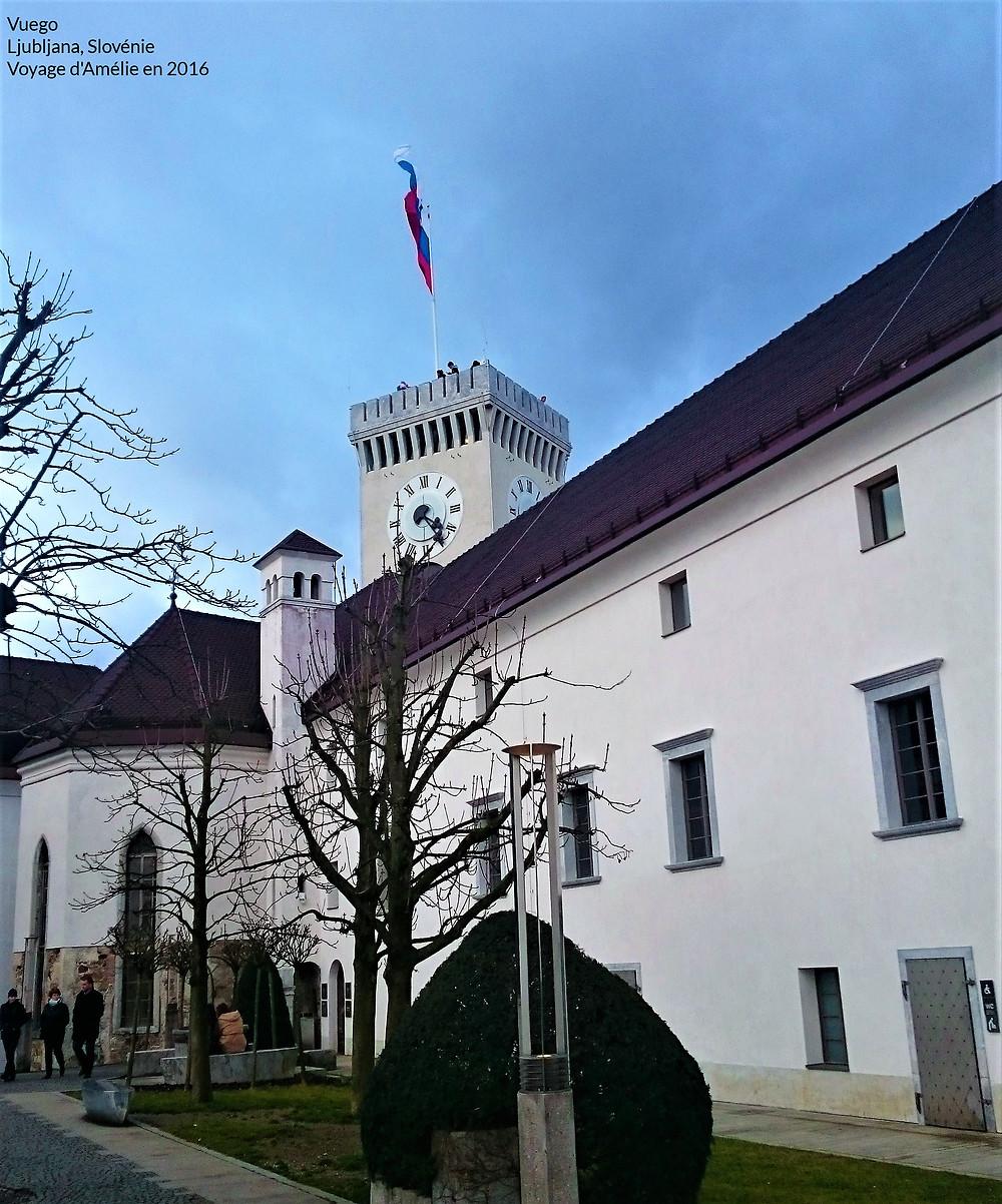Château de Ljubljana en Slovénie