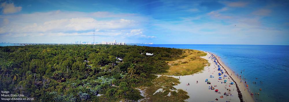 Key Biscayne est une plage paradisiaque de Miami en Floride