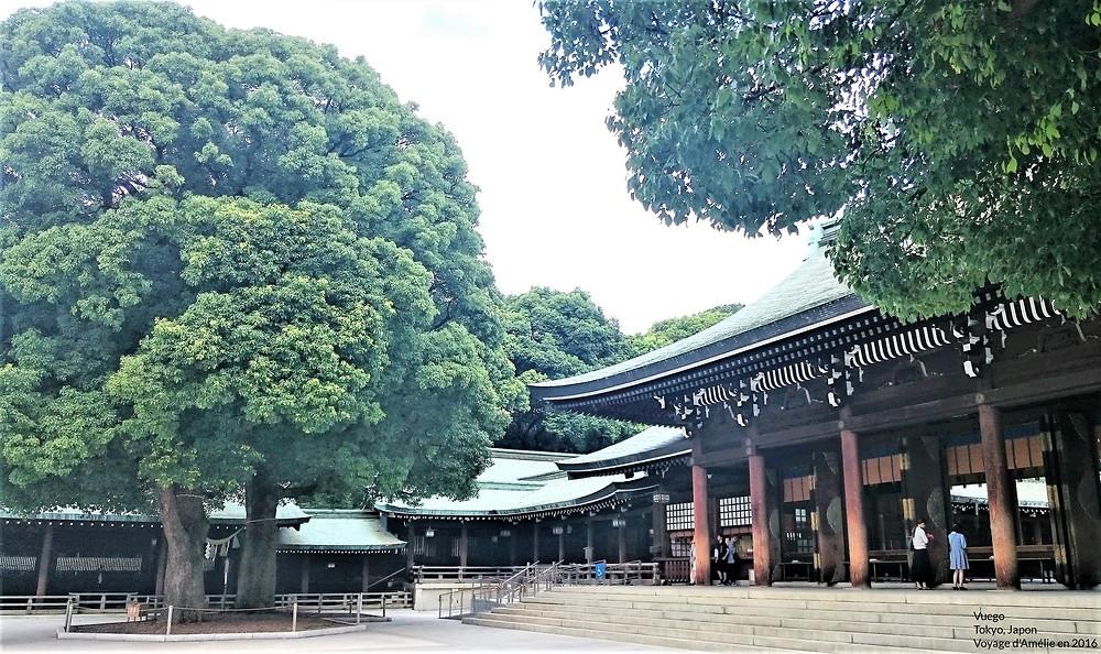 Temple à Tokyo au Japon