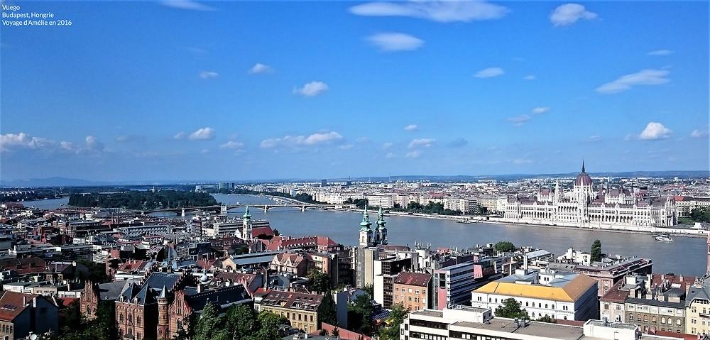 Panorama de la ville de Budapest, Hongrie
