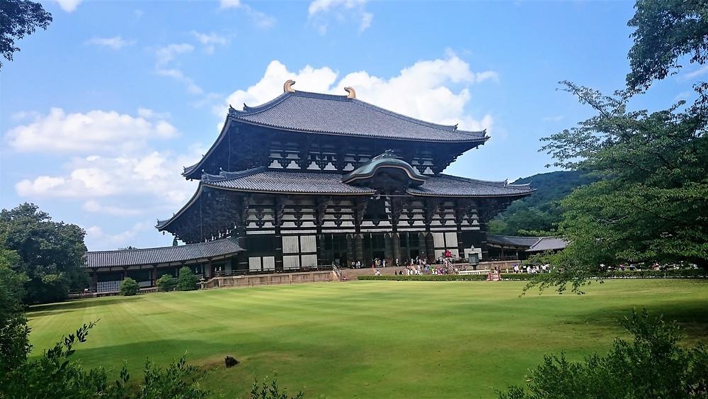 Visite des temples de Nara au Japon