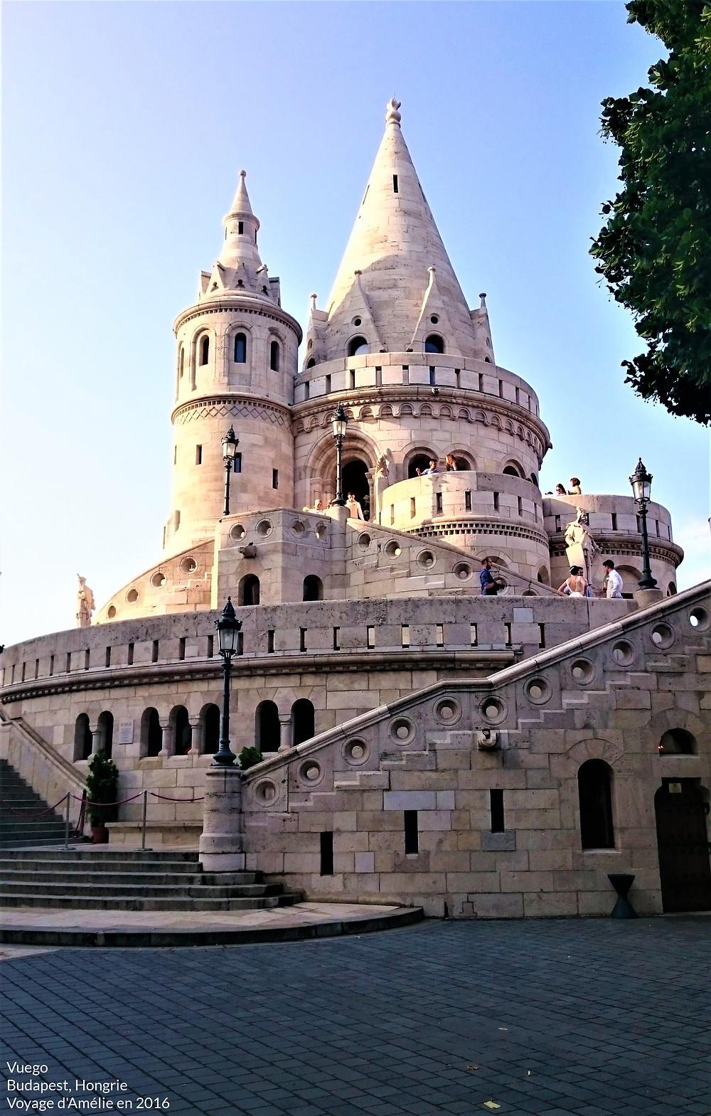Le Bastion des Pêcheurs, Budapest, Hongrie
