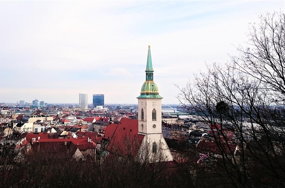 Voyage à Bratislava, Slovaquie