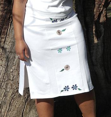 Phoebe Skirt White