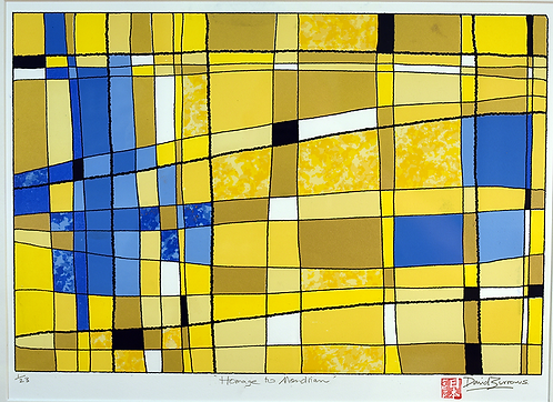 'Homage to Mondrian'