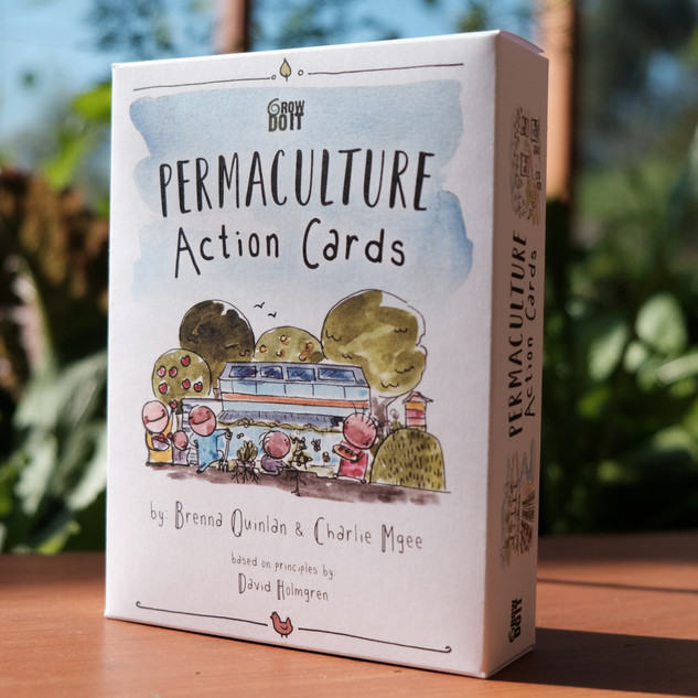 Permaculture Action Cards - $50