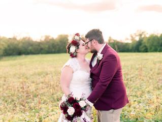 Augusta Wedding Among the Vineyards