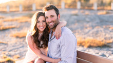 Golden Hour Engagement Session