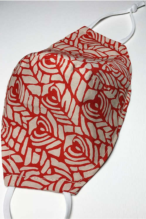 Abstract Heart Mask