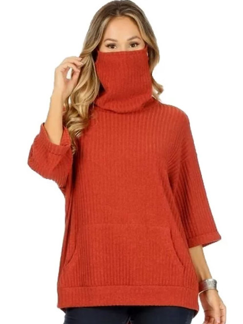 Face Mask Sweater