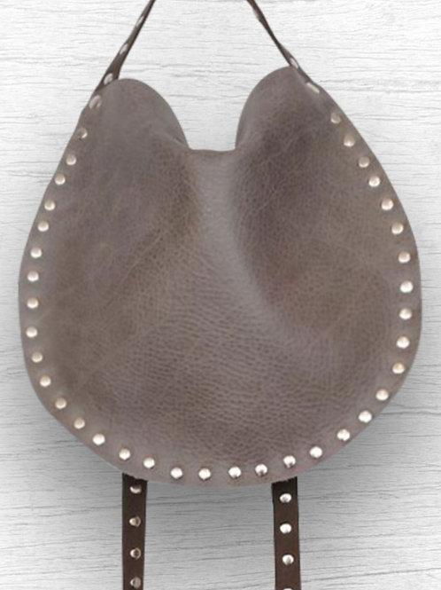 Small X-Body- Grey Leather