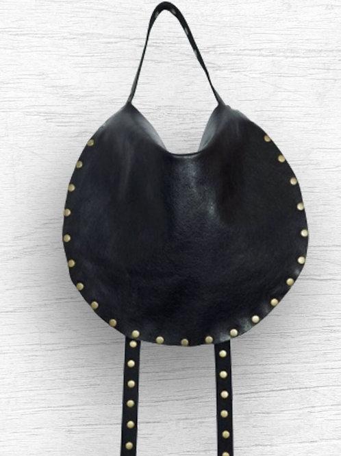 Small X-Body - Black Leather/Silver Hardwear