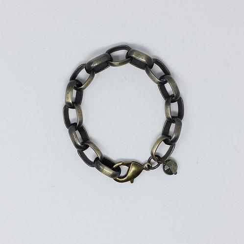 Brass Chain Braclet