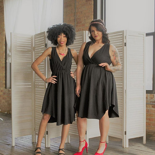 Lita Black Dress