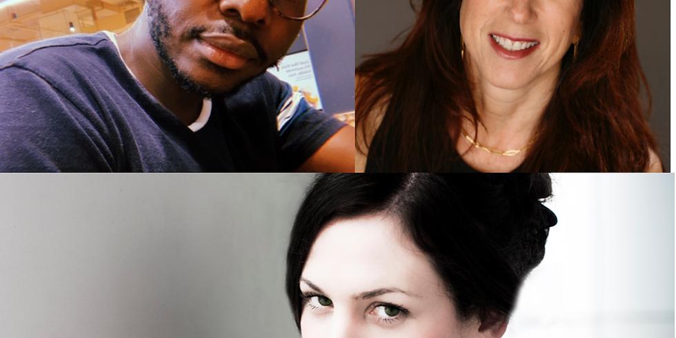 Cheswayo Mphanza, Rachel DeWoskin, & Patty Seyburn