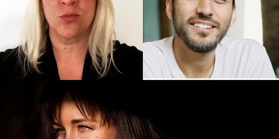 Megan Stielstra, Jacob Saenz, & Amy Sayre Baptista