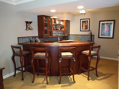Rec Room Bar Area Repaint