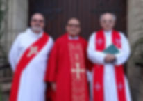 Clergy of Our Lady's Catholic Church, Lowestoft