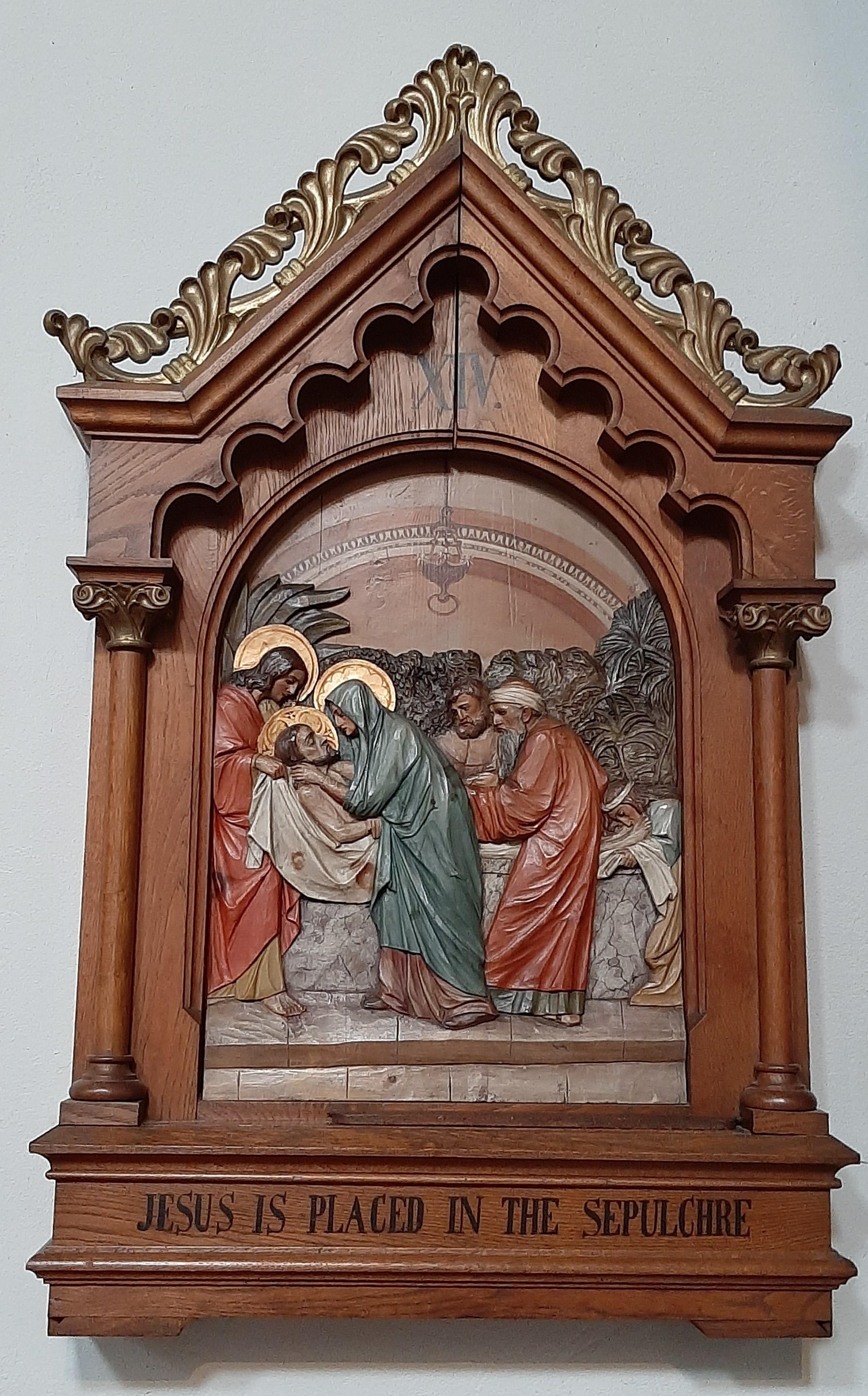Twelfth Station: Jesus dies on the Cross.