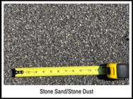 Stone Sand/Stone Dust