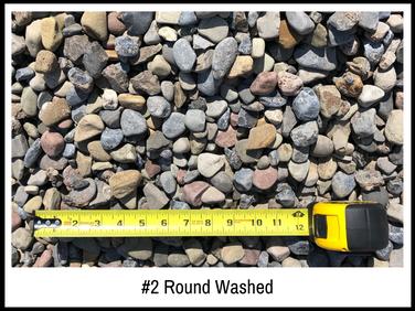 #2 Round Washed