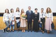"""Promoția 2018 a workshopului de film pentru liceeni """"Câmpuscurt"""", sub patronajul lui Nicolae al României"""