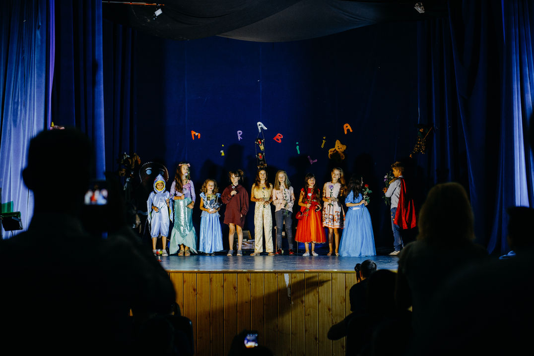 Piesa de teatru cu și pentru copii