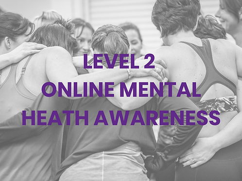 Level 2 Mental Health Awareness