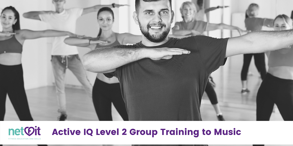 Active IQ Level 2 Group Training/ GT to Music