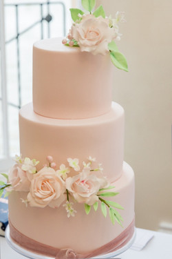 Pink Cake by Simply Irresistible Cakes
