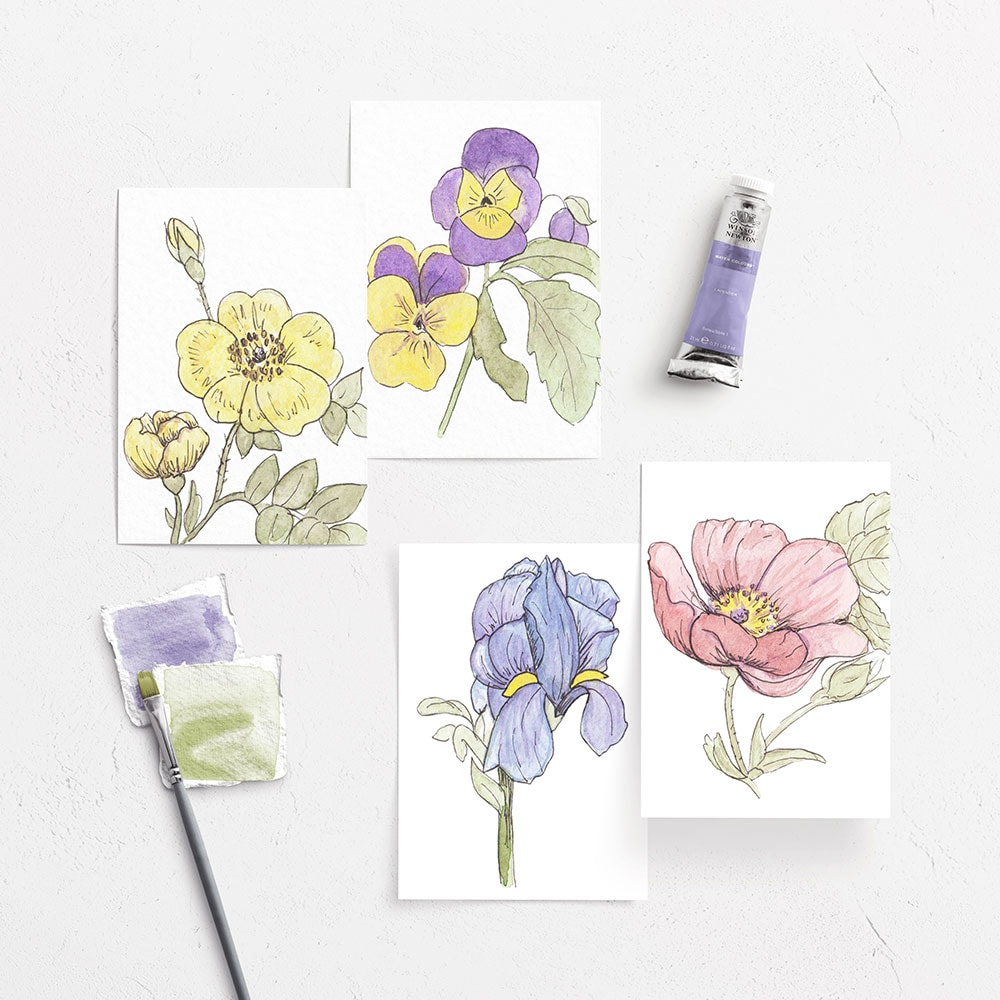8 pc Notecard Set