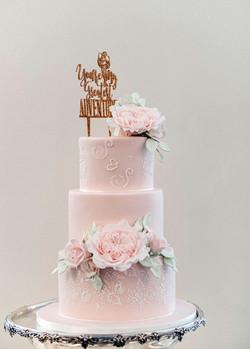 Pink Wedding Cake full