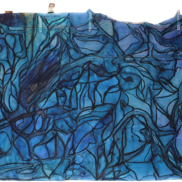 Untitled, Rectangle (blue)