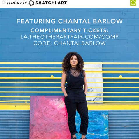 Chantal Barlow at The Other Art Fair