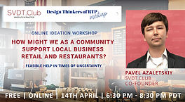 How might we as a community support local business retail and restaurants