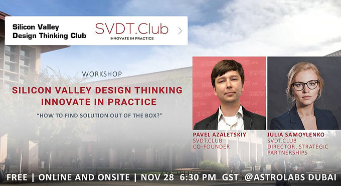Silicon Valley Design Thinking - Innovate in Practice