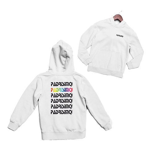 Padrísimo Hoodie (logo front & back)