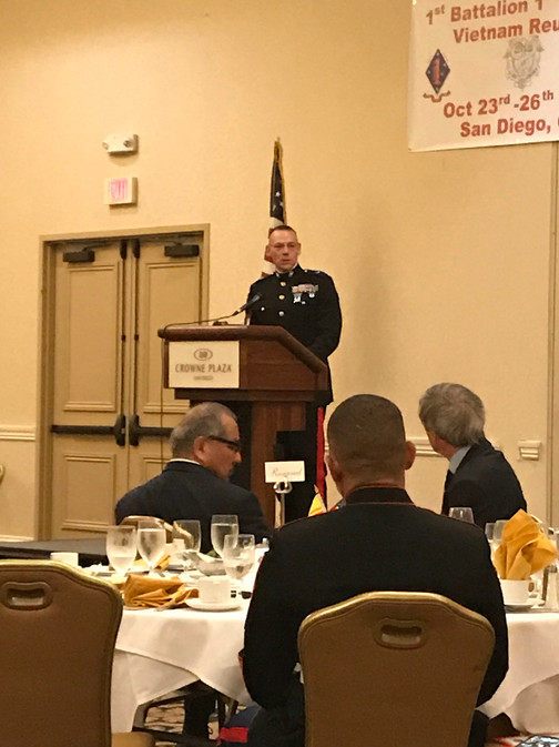 Brigadier General Ryan P. Heritage spoke to us about the current recruiting and training taking place at MCRD.