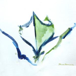 Green Canoe by Becky Mason