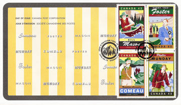 canada post first day cover