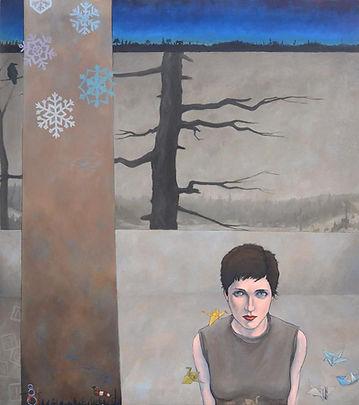 Reid McLaclan painting
