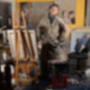 Reid McLachlan in his studio