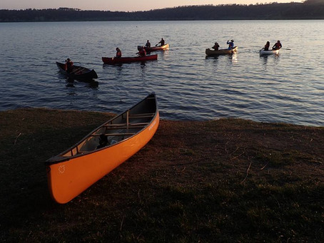 #42 Paddling Pic: Student for Life
