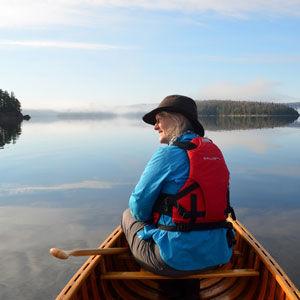 Becky Mason Canoeing