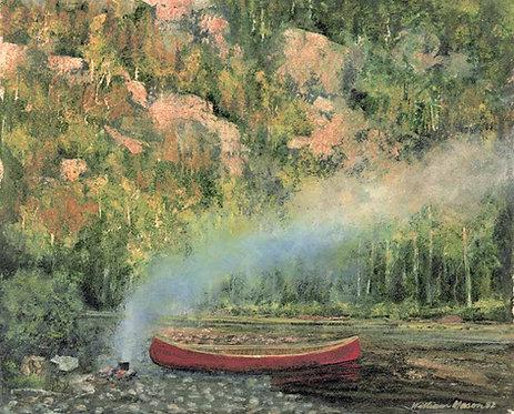 3005 Campfire, Pukaskwa River