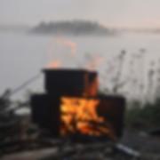 campfire box by Bill Mason