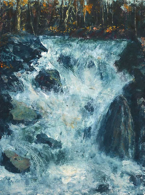 0038 Untitled Waterfall II - unsigned