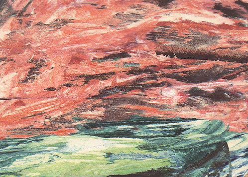 0051 Untitled Precambrian River - unsigned study