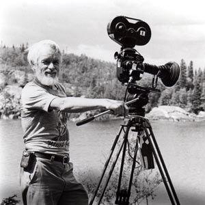 Bill Mason with his camera