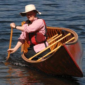 Becky Mason paddling